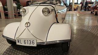 El Museo de la Automoción de Salamanca exhibe un Messerschmitt KR200