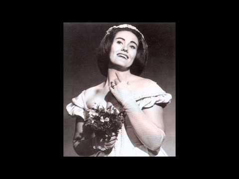 "[1960 live] Joan Sutherland's first ""Ah! non giunge uman pensiero"""