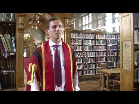 Graduation 2014 - George North, Honorary Fellow