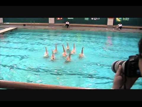 Wheaton College Synchronized Swim Meet January 29 2011 Youtube
