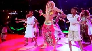 closing ceremony shakira waka waka of fifa world cup 2010 south africa