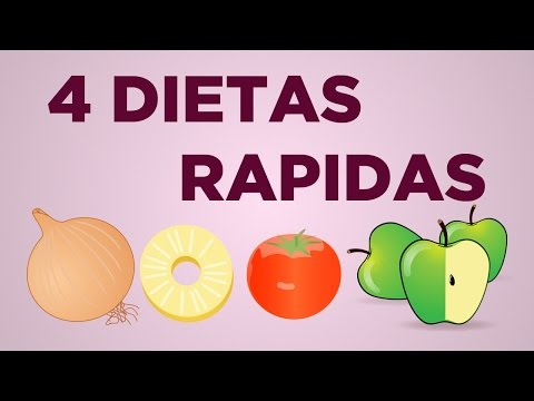 4 dietas rápidas para adelgazar hasta 5 kilos en 3 a 7 días