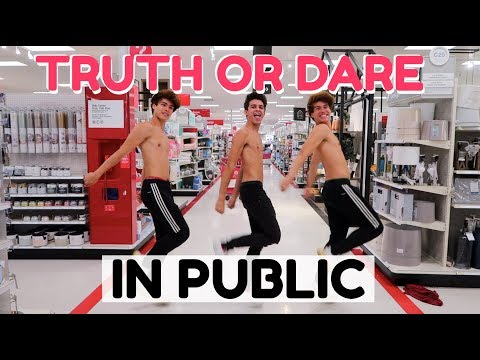 EXTREME TRUTH OR DARE IN PUBLIC 2! | Brent Rivera