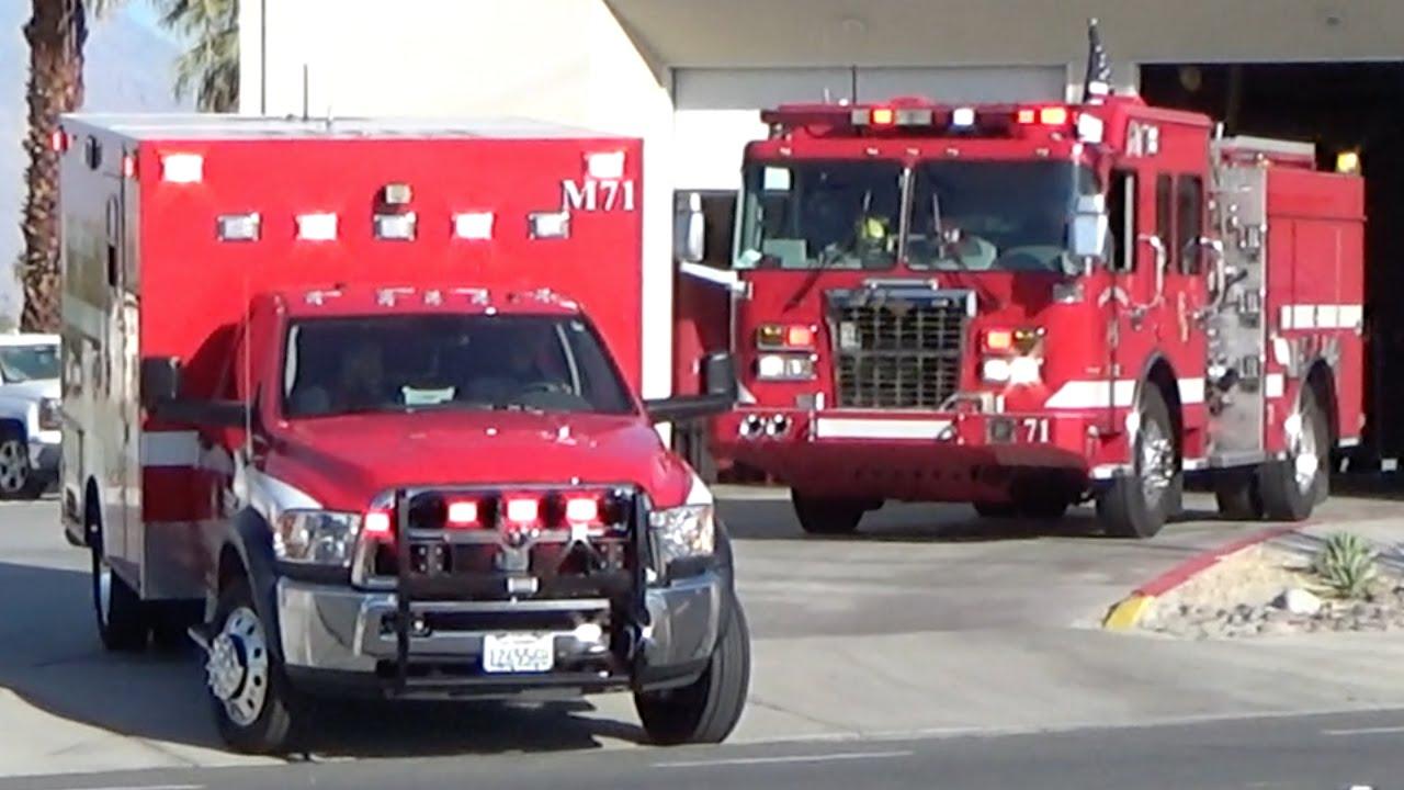 Riverside County M71 E71 Responding Youtube