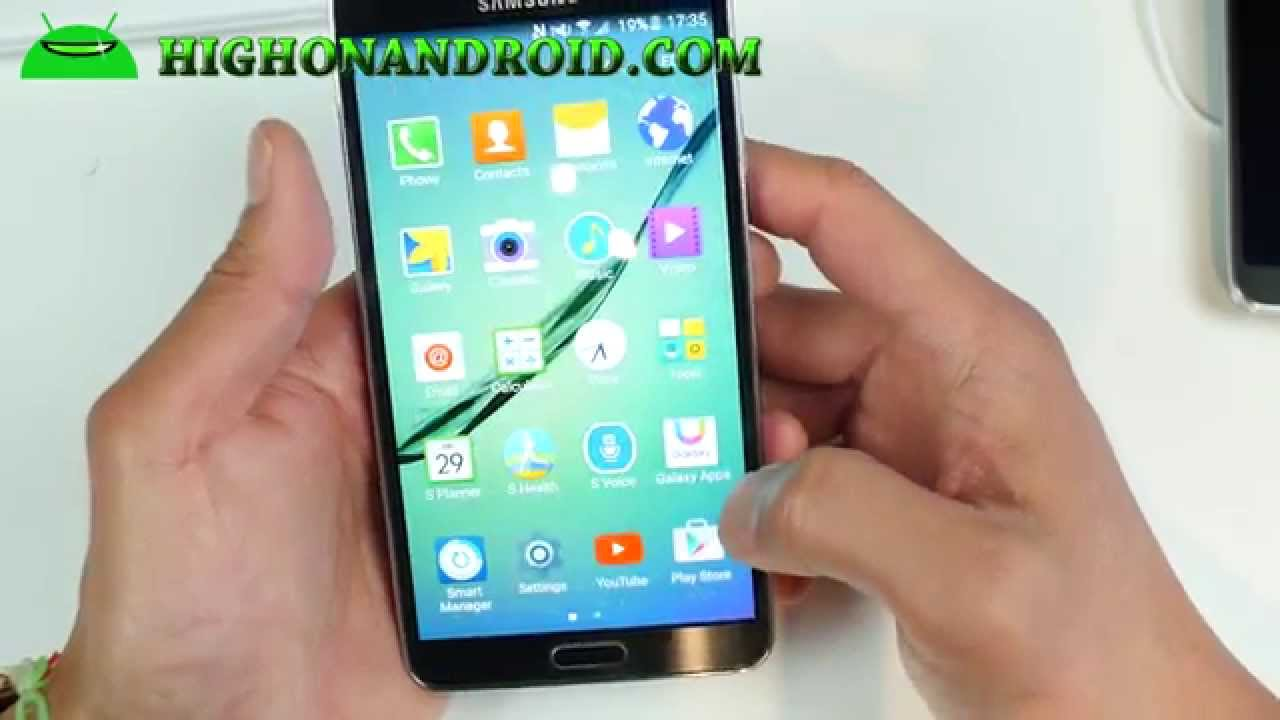 How to Convert your Note 3 into S6 Edge! [DarkLord S6 ROM]