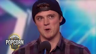 Britain's Got Talent 2016 S10E03 Craig Ball Hilarious Impressionist Singer Full Audition thumbnail