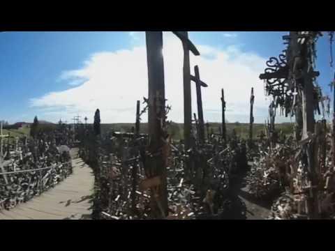 世界遺産 リトアニア 十字架の丘  VR360°【バルト三国旅行】