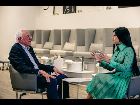 Chuck Dizzle - Bernie Sanders Sits With Cardi B To Discuss Issues Faced In The U.S.