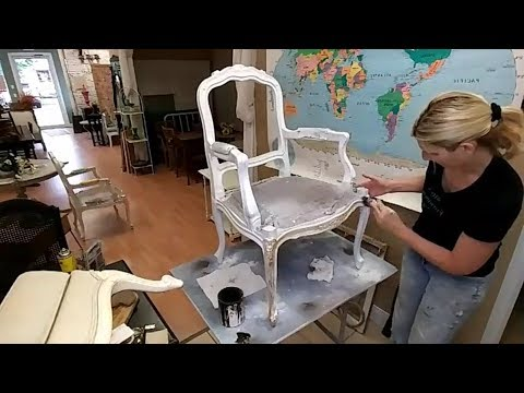 How to Glaze Painted Furniture [DIY]