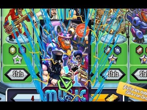 Mutants Genetic Gladiators: Reactors Music