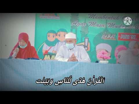 Syiar Ramadhan 2021: Pembacaan ayat suci Al Quran Surat Al-Baqarah: 183-185 dari Salwa Azahra Niar