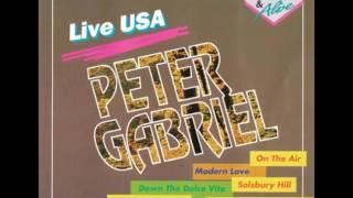 Peter Gabriel - Excuse me