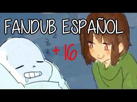 """FANDUB ESPAÑOL / """"El alma""""( ͡° ͜ʖ ͡°) / Undertale / SANS X CHARA"""