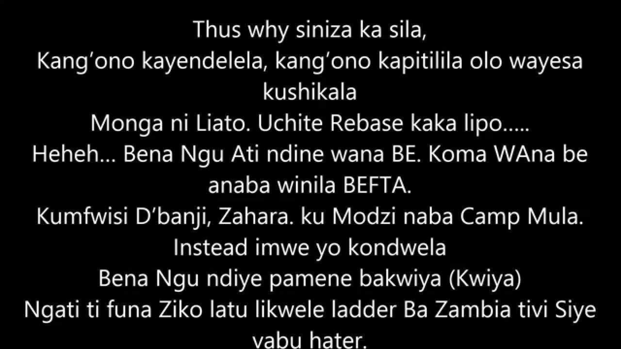 Nyamuka Nyamuka Zambian Music lyrics - YouTube