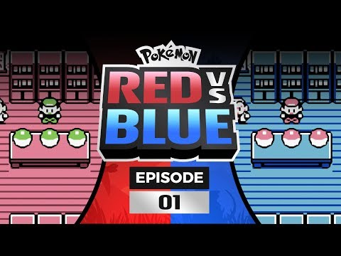Pokemon Red and Blue Versus - EP 01 | Let's Dew This!