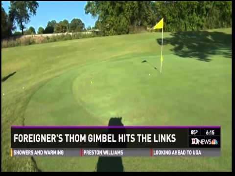 Golfing with Tom Gimbel of Foreigner