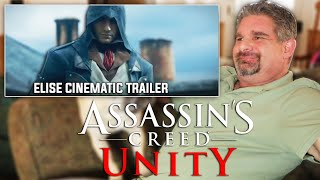 Dad Reacts to Assassin's Creed Unity  - Elise Cinematic Trailer