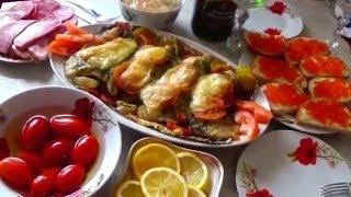 ТИЛАПИЯ Запеченная с сыром помидорами специями в фольге. Oxana Moscow