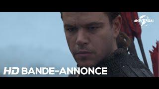 La Grande Muraille - Bande-Annonce Officielle VOST [Au cinéma le 15 Mars 2017]
