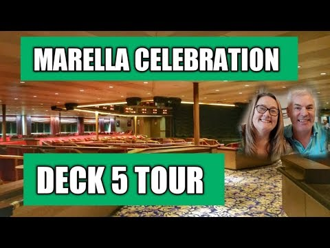 A short tour of the inside of Deck 5 on the Thomson Celebration Cruise Ship (Marella Celebration)