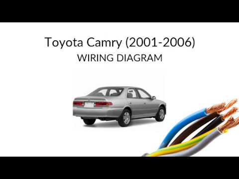 camry xv30  wiring diagrams and manual