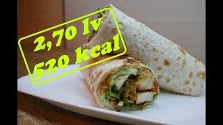 HOW TO MAKE HEALTHY GRILLED CHICKEN WRAPS