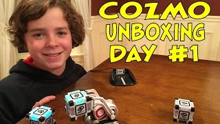 Cozmo the Robot | Unboxing & Day #1| #cozmoments
