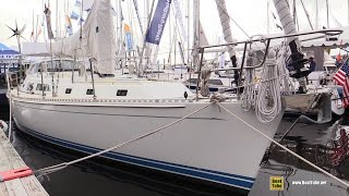 2017 Outbound Yachts 46 Sailing Yacht - Deck and Interior Walkaround - 2016 Annapolis Sailboat Sh