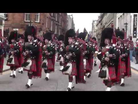 1st Battalion Scots Guards - Homecoming Parade 1st June 2013