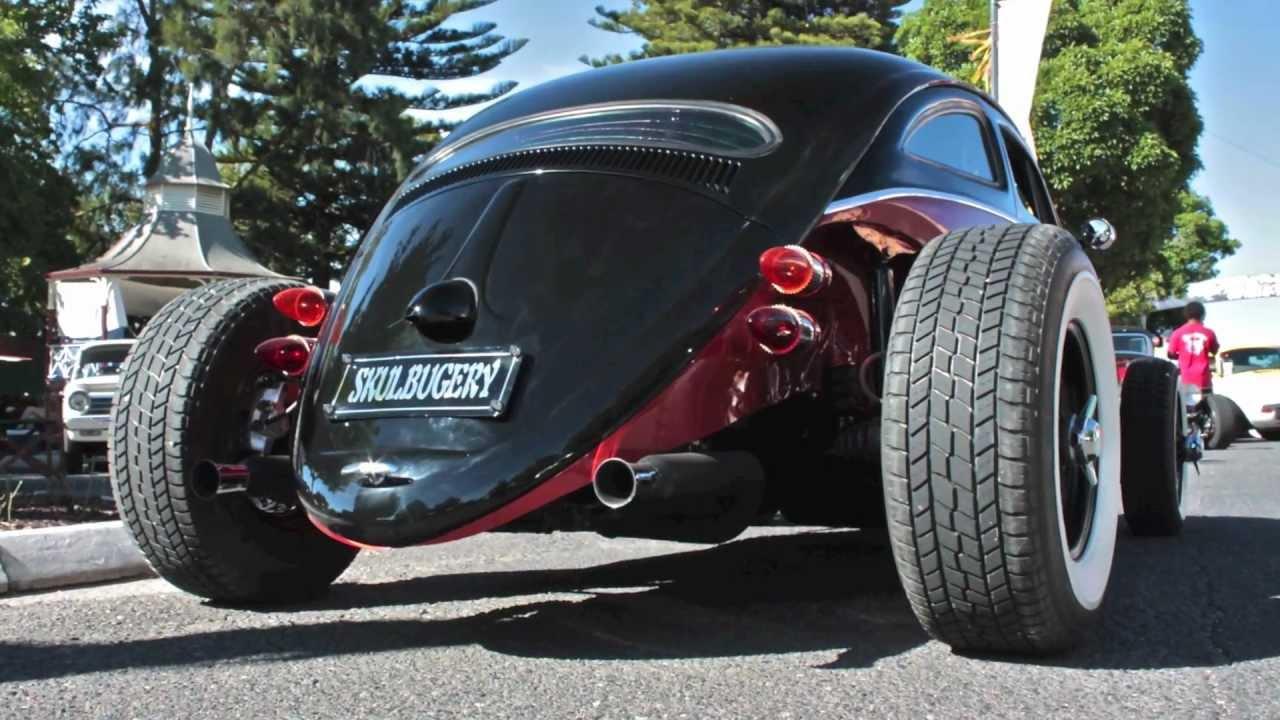 Skulbugery, Volkswagen Beetle chop job - YouTube
