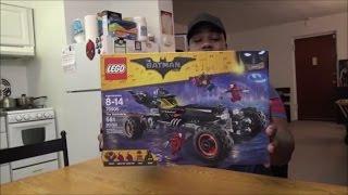 The Lego Batman Movie - Batmobile - UNBOXING & BUILD!!!
