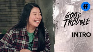 Good Trouble Character Introduction | Sherry Cola is Alice Kwan | Freeform