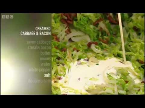 creamed-cabbage-and-bacon-recipe---gary-rhodes-new-british-classics---bbc