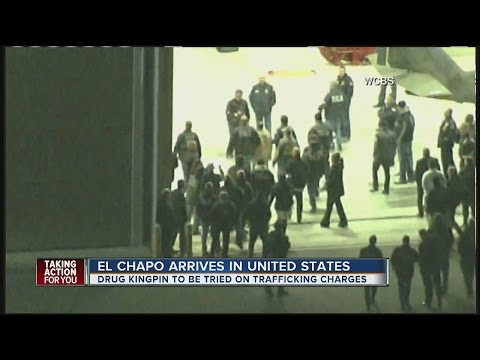 El Chapo Arrives In United States