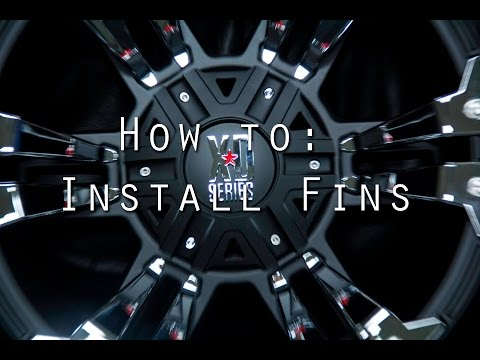 Tutorial: How to Install Fins on the Monster II