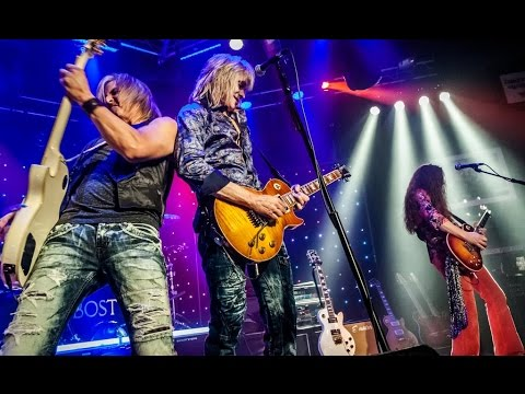Bostyx featuring DAVID VICTOR formerly of BOSTON - LIVE Intro and Rock n Roll Band