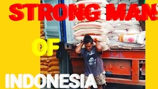 strong man Indonesia