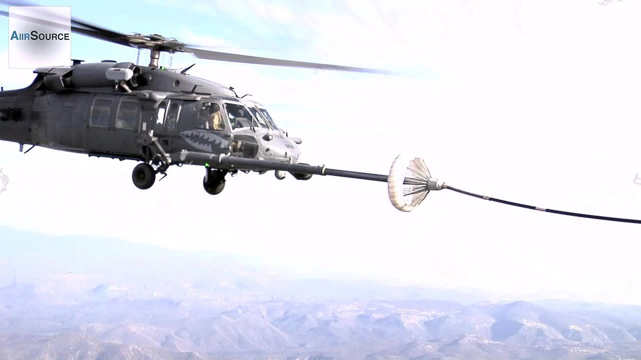 File:101st Rescue Squadron - HH-60G Pavehawk Helicopters Refueling ...