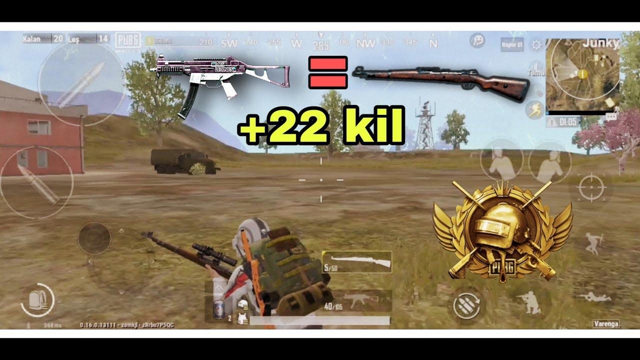 Pubg mobile lite game play (22kil)