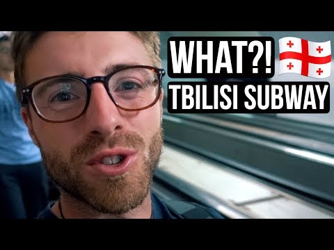 THIS happens on TBILISI Subway?! Exploring Georgia 🇬🇪