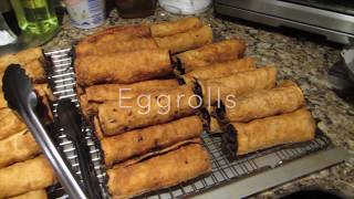 egg roll street food