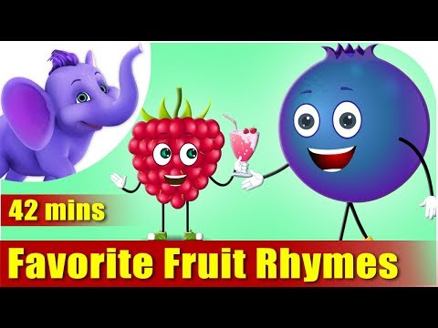 Fruit Rhymes – Ultra HD (4K) Best Collection of Rhymes for C