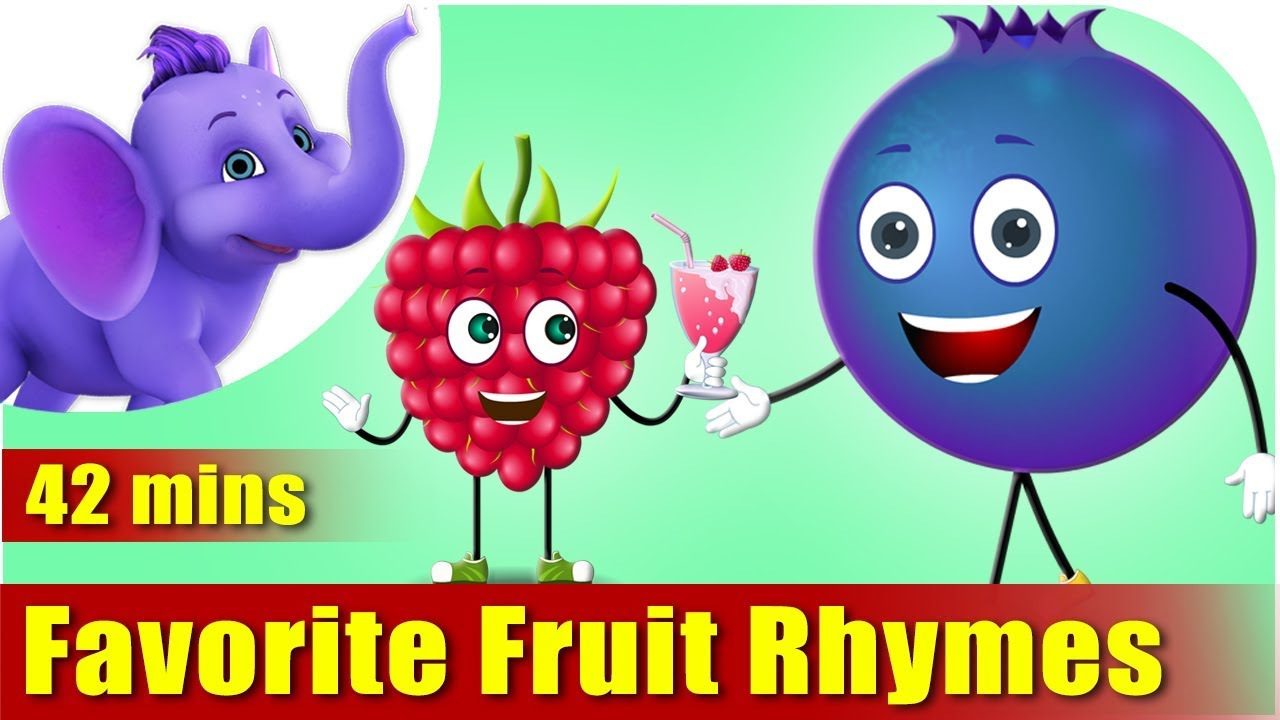 Fruit Rhymes Ultra Hd 4K Best Collection Of Rhymes For Children In English