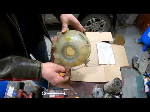 Лайфхак - ремонт лопнувшего  расширительного бачка (VAG) в полевых условиях.