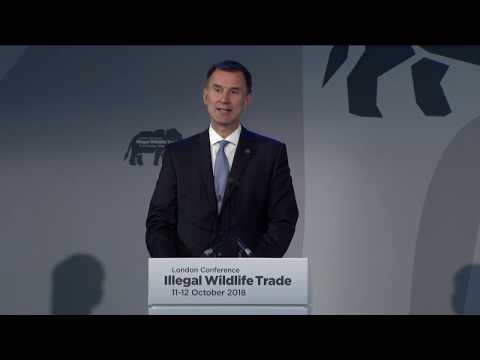 Illegal Wildlife Trade conference London 2018: opening session