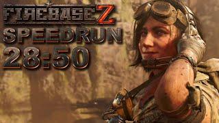 Firebase Z Easter Egg Speedrun Solo *RaiK-84 Build Strat* - 28:50