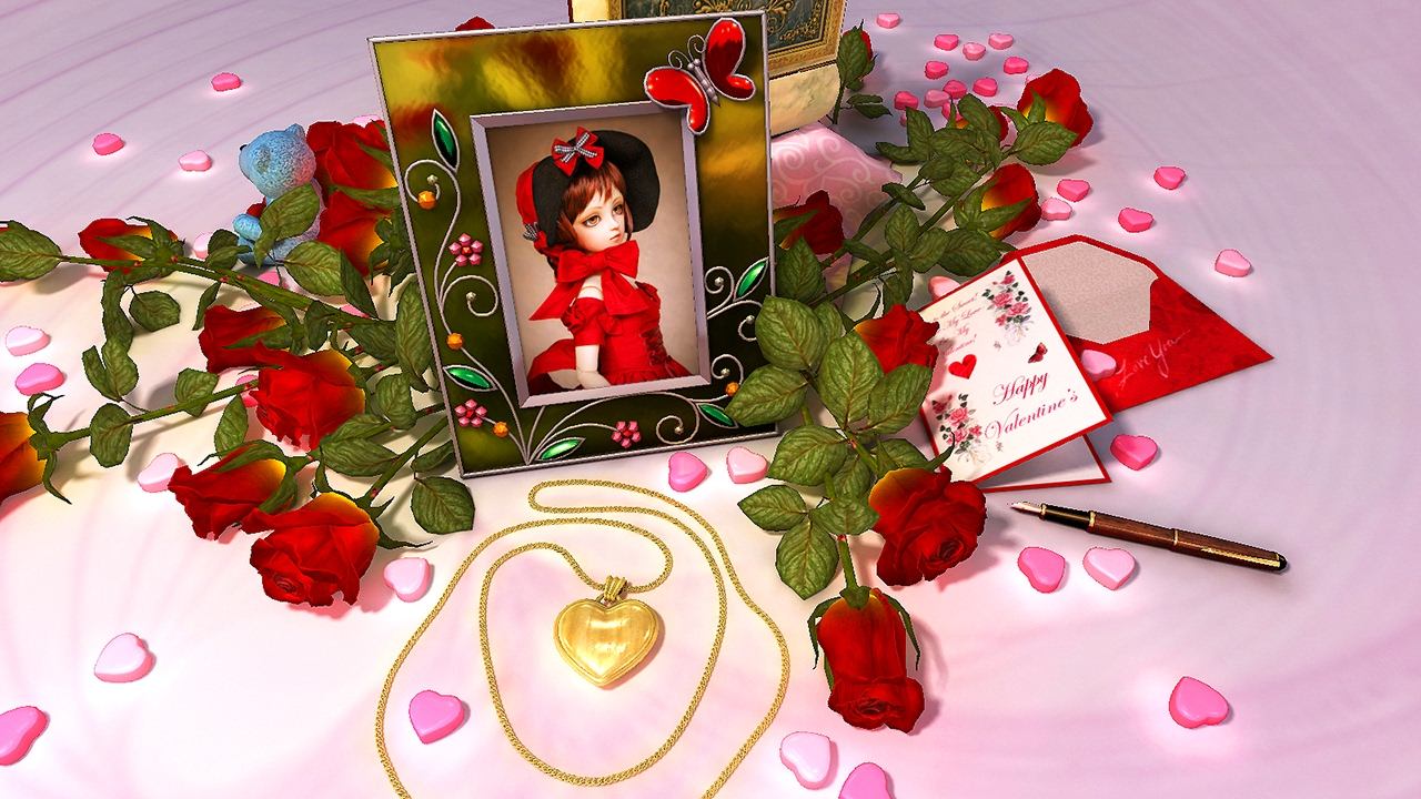 Valentine Musicbox 3d Screensaver Live Wallpaper Hd Youtube