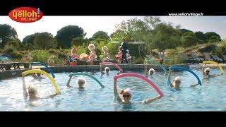 Campings Yelloh! Village - Publicité TV avec Stéphane Bern, promenade dans le camping