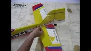 Building A Model Aircraft From A Kit Or Plan