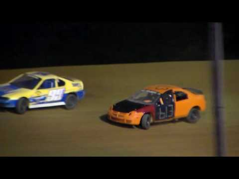 Dog Hollow Speedway - 7/22/16 Four Cylinder 20 Lap Special - dirt track racing video image
